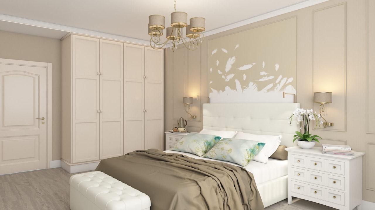 Дизайн проект квартира студия с одной спальней Демеевская, Киев | фото 6