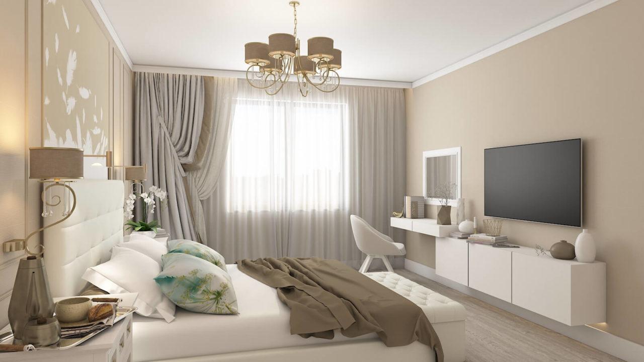 Дизайн проект квартира студия с одной спальней Демеевская, Киев | фото 7