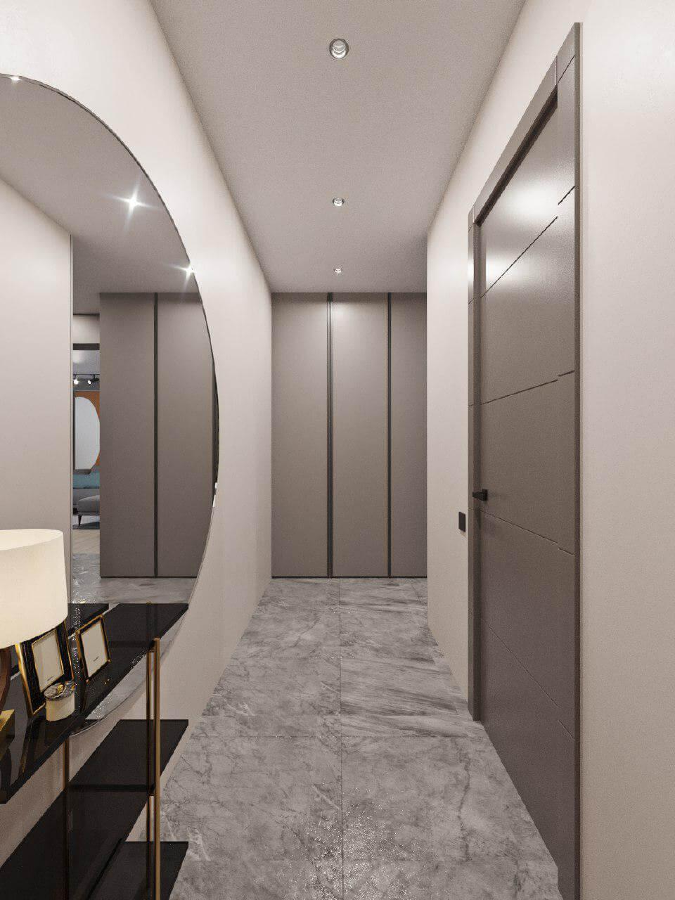 Дизайн проект двухкомнатной квартиры, бирюзовій акцент, Киев | фото 5