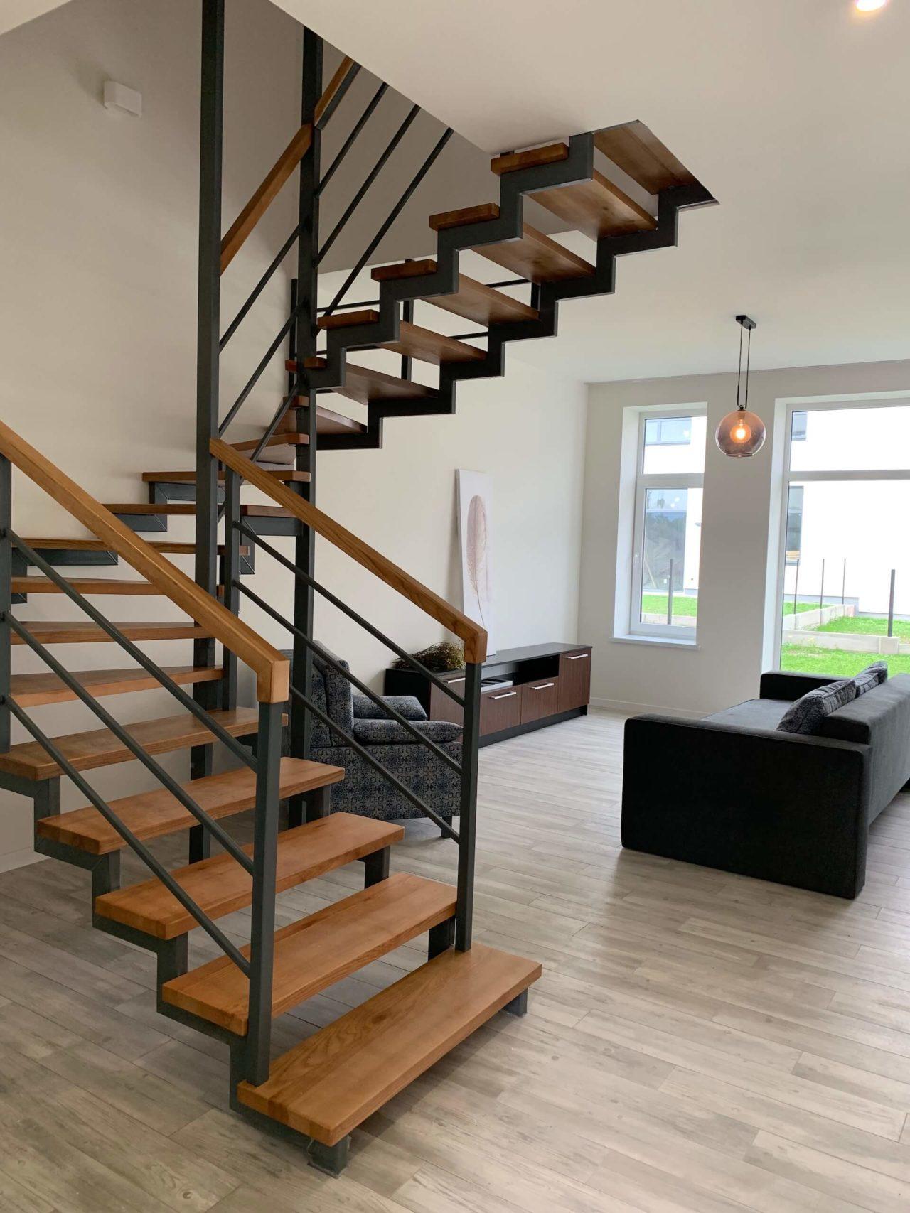 Дизайн проект таунхауса 120 кв.м., коричневый. Львов | фото 3