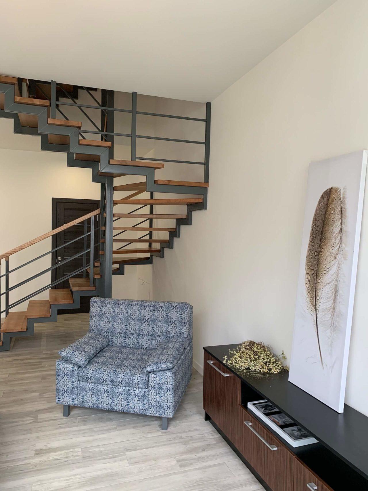 Дизайн проект таунхауса 120 кв.м., коричневый. Львов | фото 5