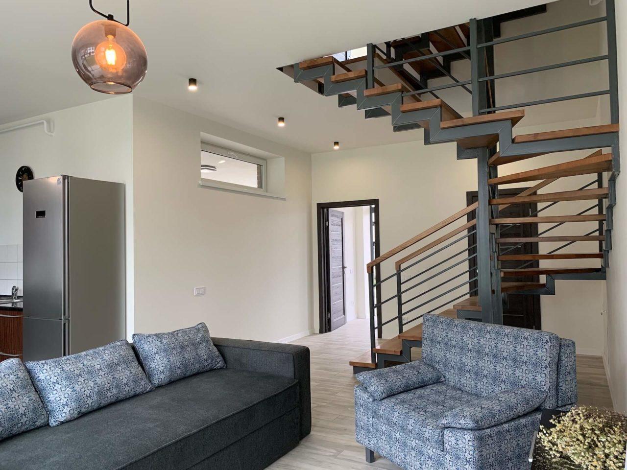 Дизайн проект таунхауса 120 кв.м., коричневый. Львов | фото 6