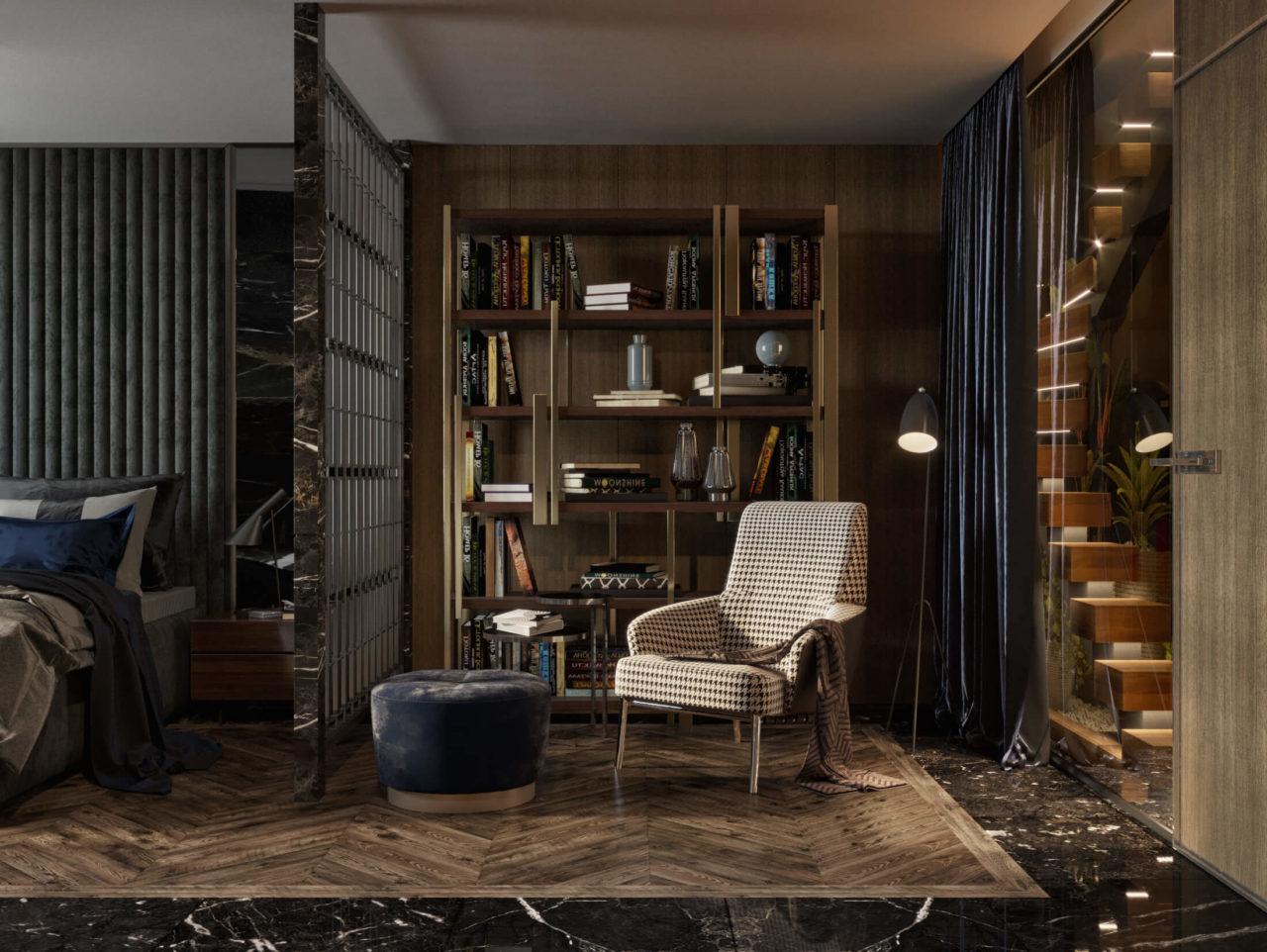 Дизайн проект двухэтажная квартира с террасой, Ирпень | 1 этаж фото 3