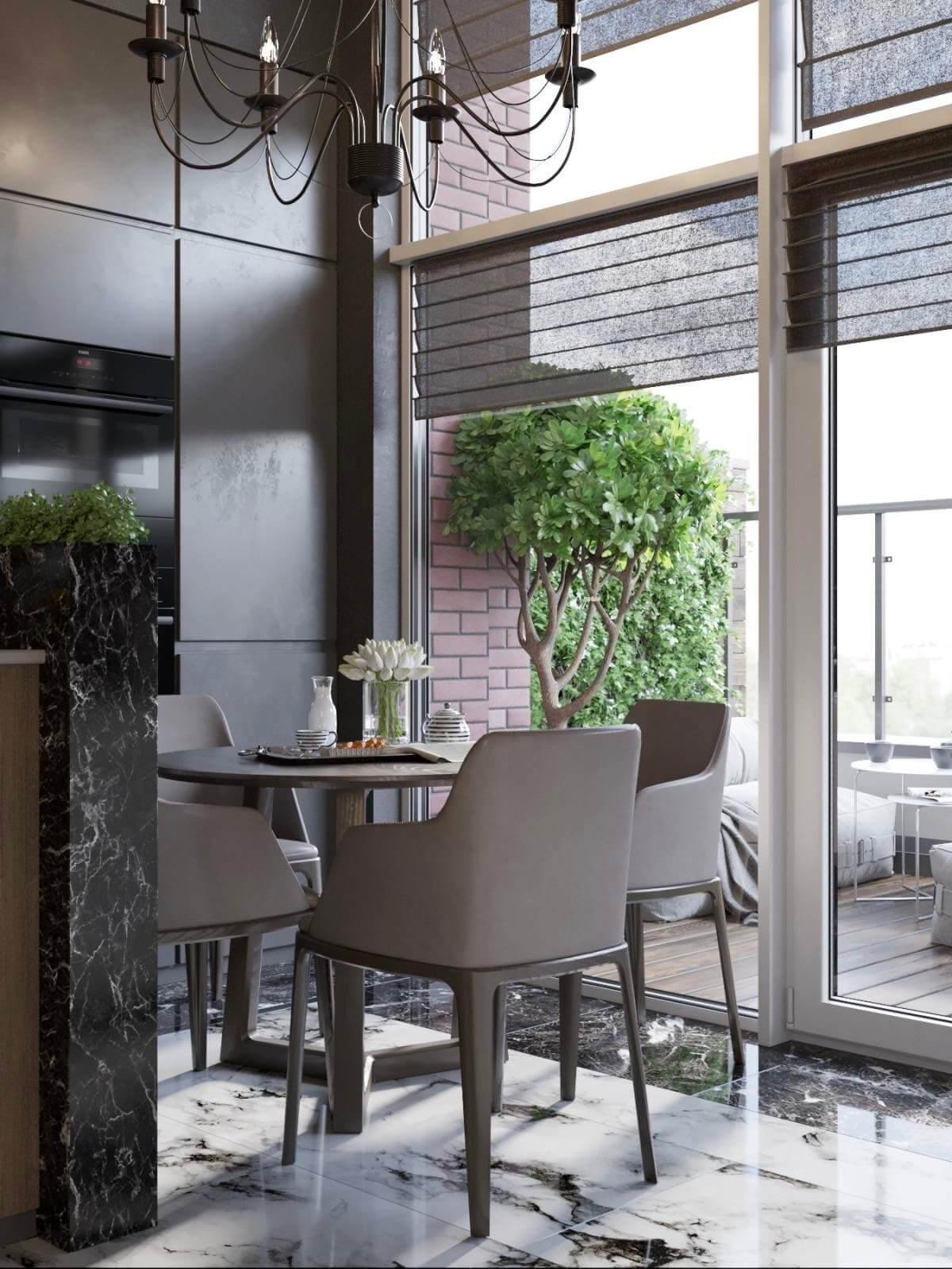 Дизайн проект двухэтажная квартира с террасой, Ирпень | 2 этаж фото 11