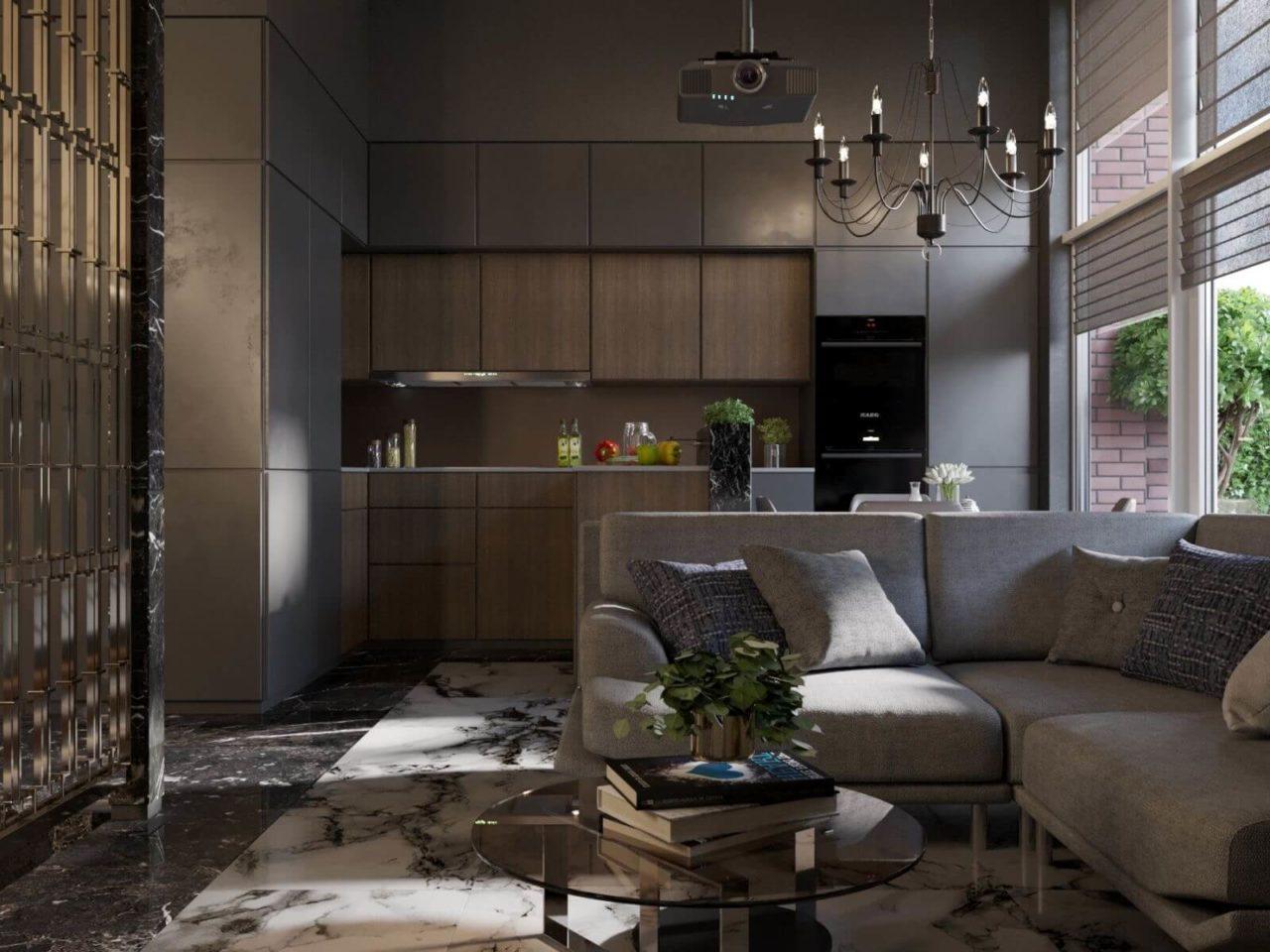 Дизайн проект двухэтажная квартира с террасой, Ирпень | 2 этаж фото 3