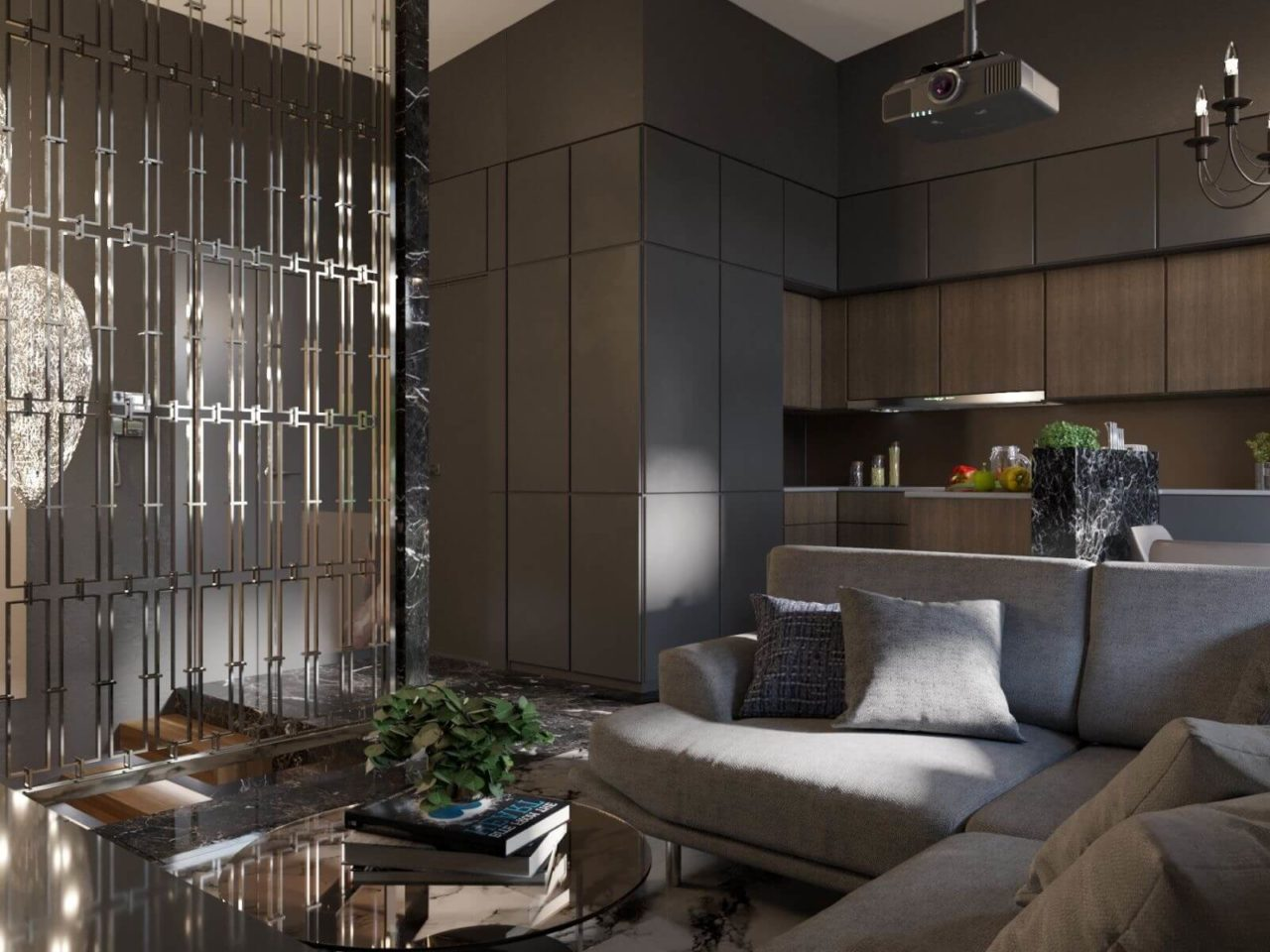 Дизайн проект двухэтажная квартира с террасой, Ирпень | 2 этаж фото 7