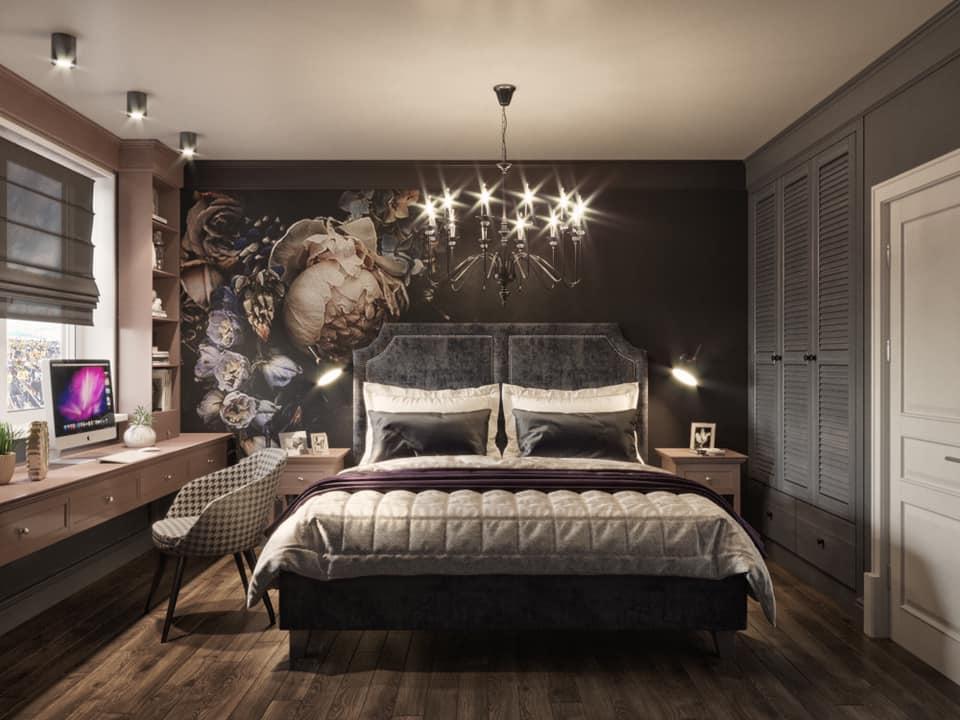 Дизайн проект квартира студия с двумя спальнями, Киев | фото 1