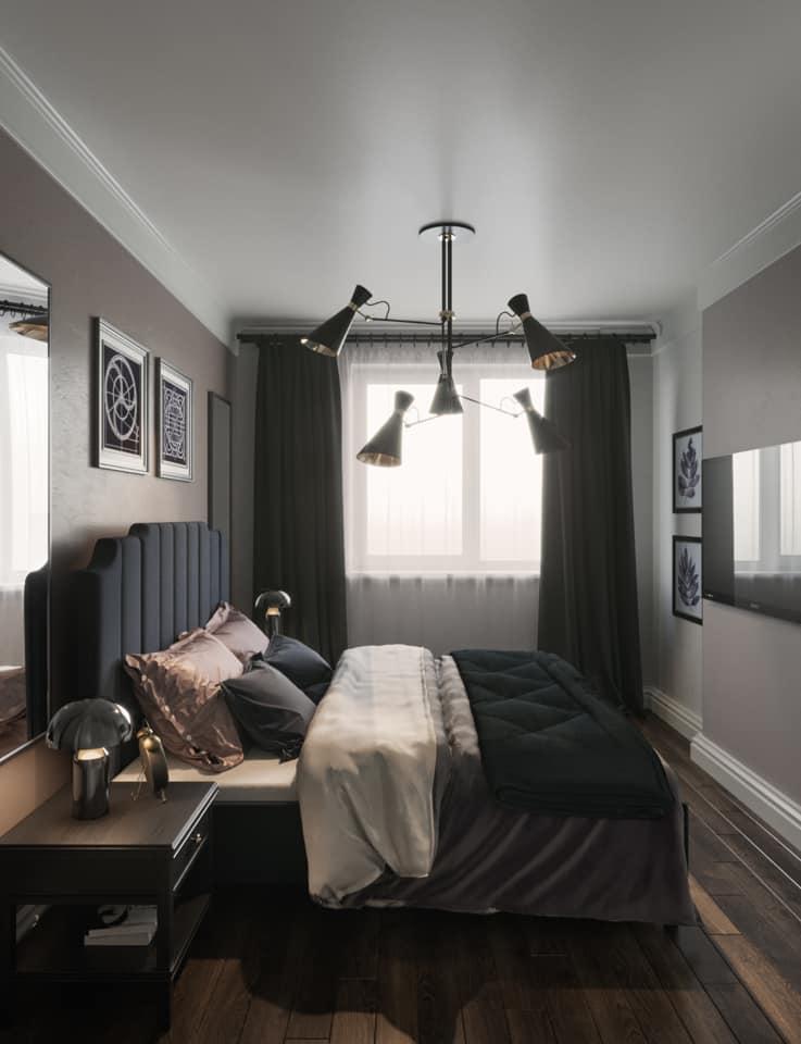 Дизайн проект квартира студия с двумя спальнями, Киев | фото 2