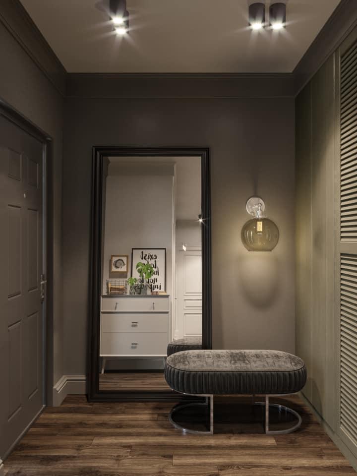 Дизайн проект квартира студия с двумя спальнями, Киев | фото 9